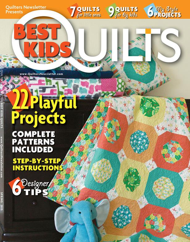 Quilters Newsletter's Best Kids 2015