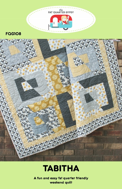 Fat Quarter Gypsy Tabitha Quilt Pattern