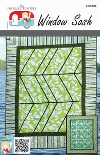 Fat Quarter Gypsy Window Sash Quilt Pattern