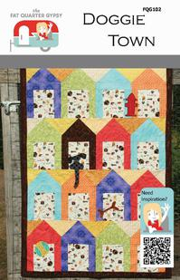 Fat Quarter Gypsy Doggie Town Pattern
