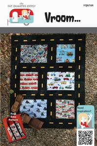 Fat Quarter Gypsy Vroom Quilt Pattern